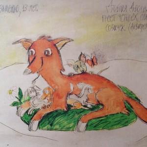 конкурс детского рисунка о собаках